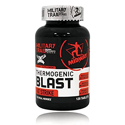 Midway Labs USA Military Trail Thermogenic Blast, 120 Count