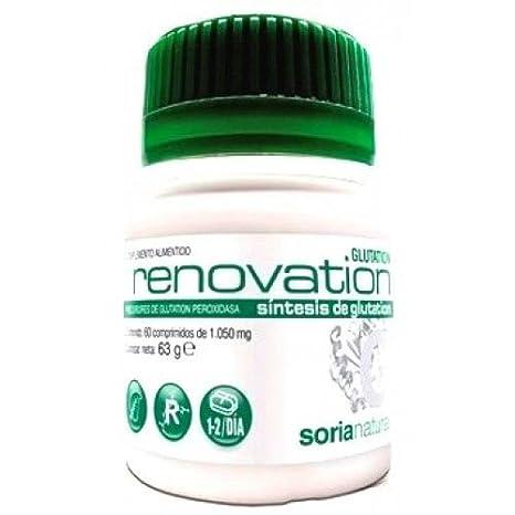 Soria Natural Glutation Renovation Antioxidantes - 60 Cápsulas: Amazon.es: Salud y cuidado personal