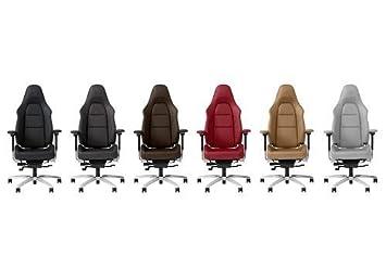 Dans Chaise Personnaliser Porsche Graphitblaugalets Bureau Jour De CredBox