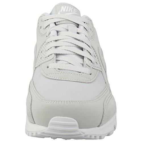 Nike Air Max 90 Essential, Scarpe da Ginnastica Uomo Beige (Pure Platinum/Pure Platinum/White 002)