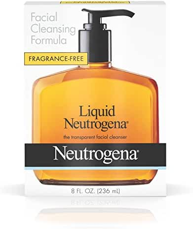 Liquid Neutrogena Facial Cleansing Formula, 8 Fl. Oz