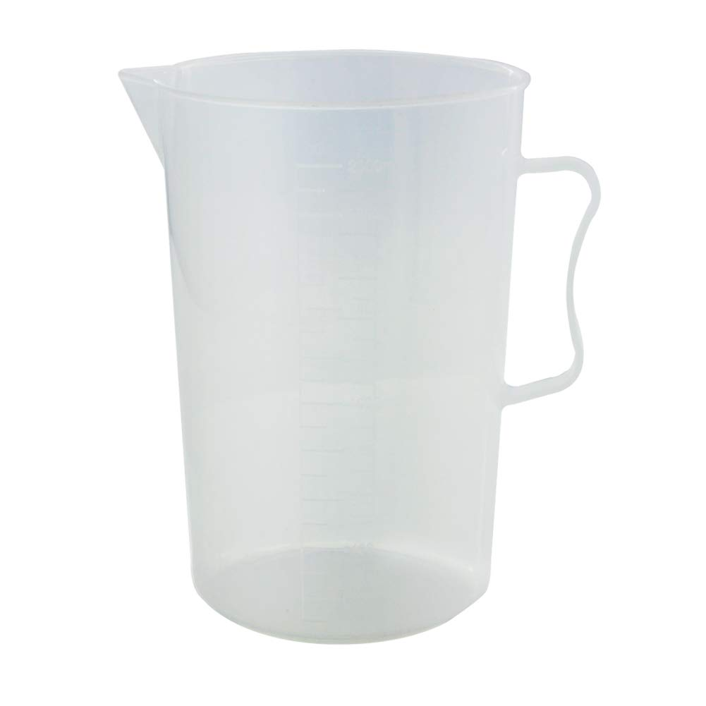 Othmro 67 oz (2 Liter) PP Measuring Pitcher Pour Cup Plastic Graduated Measuring and Mixing for Pouring Cup, Measure Mix Paint or Kitchen Cooking Baking Ingredients