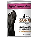 Dave's Pet Food Poached Salmon Entrée Food (12 Cans Per Case), 13.2 oz.