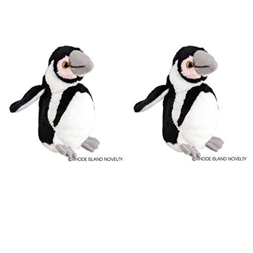 "Set of 2 Super Soft Plush PENGUINS 5"" STUFFED Animals - Stoc"
