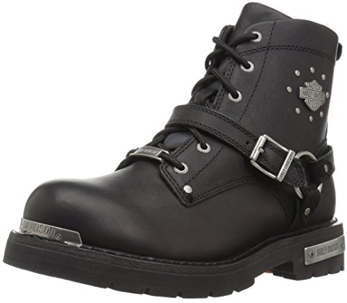 Barnett Sight - Harley-Davidson Women's Becky Motorcycle Boot, Black, 7 Medium US
