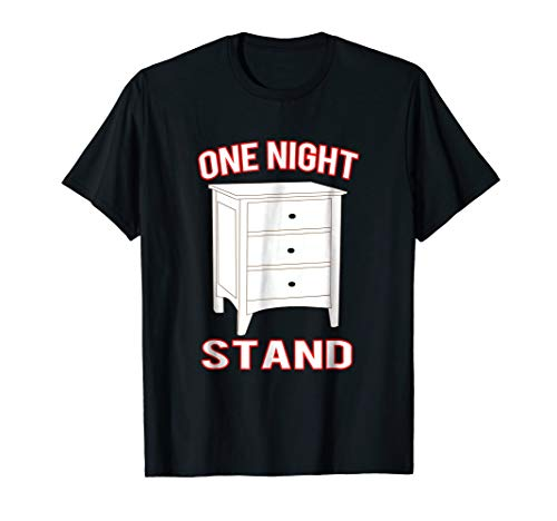 One Night Stand Funny Pun Halloween Costume T-shirt