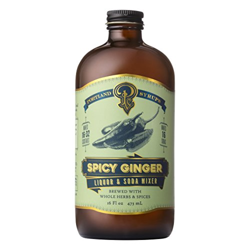 Portland Syrups Spicy Ginger Syrup (16oz)
