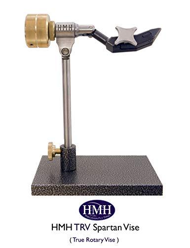 Vise Pedestal - HMH TRV Spartan Fly Tying Vise (True Rotary Vise/Pedestal Model) Made in The USA