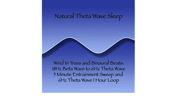 Wind and Binaural Beats: 18Hz Beta Wave to 6Hz Theta Wave 5 Minute