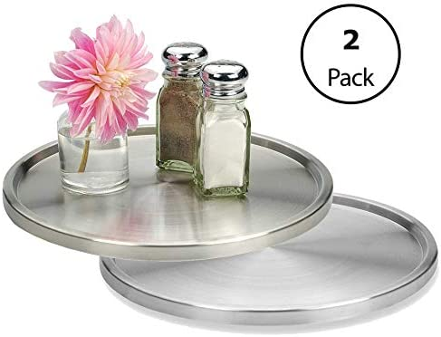 Lovotex 1 Tier Lazy Susan Stainless Steel 360 Degree ...