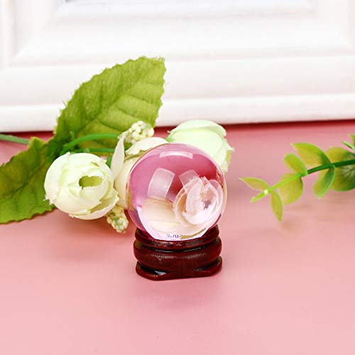 Hot Sale!DEESEE(TM)30mm Natural Quartz Magic Crystal Ball Healing