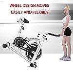 DXIN-Cyclette-Cyclette-per-Bici-da-Palestra-Macchina-Ellittica-Cardio-Domestica-Attrezzatura-da-Allenamento-per-Allenamento-con-Spin-Bike-Sedile-Regolabile-E-Cyclette