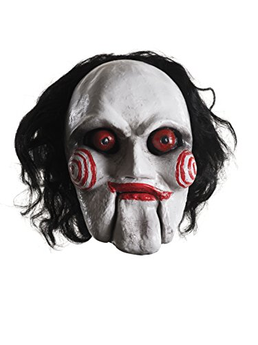 (Rubie's Costume Co Saw Billy Overhead Latex Mask, Multi, One)