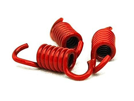 Citomerx Muelle de embrague, 45% más duro, color rojo; para