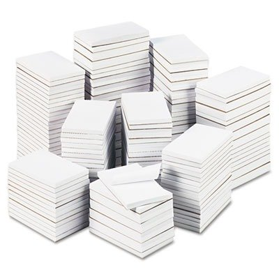 Bulk 3 x 5 Scratch Pads, 100 Sheets, White, 180 Pads per 25-lb. Carton