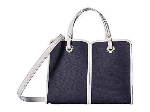 Kate Spade New York Women's Sam Canvas Plunge Medium Satchel Blazer Blue One Size ()