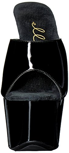 Scarpe Ellie E-709-vanity 7 Stiletto A Punta. Nero