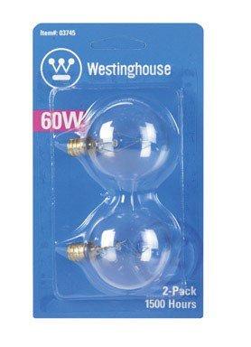 - Westinghouse 03745 - 60G161/2/CD2 G16 5 Decor Globe Light Bulb