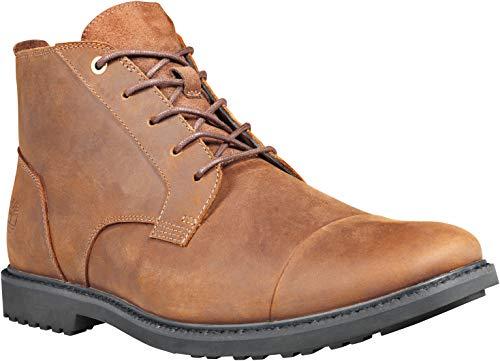 Timberland Men's TB0A1U4A242 - Lafayette Cap Toe Chukka 11 M Dark Brown