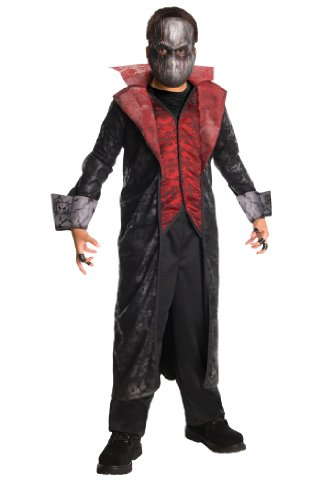 [Horrorland Cruel Count Costume And Mask Costume] (Count Gothic Costumes)