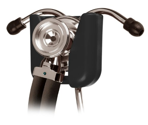 Valencia Med Stethoscope Holder Clip (Black)