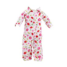 Handmade Cherry Strawberry Print Pajamas PJS Clothes for 18inch AG American Girl Our Generation Journey My Life Dolls