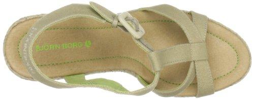 Tacco Donna sand Björn 1211094101 beige Scarpe Borg Beige Footwear Flavia Con 2600 q0wZfq4