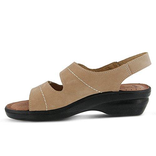 Flexus Womens Belamar Essentials Sandaal Beige