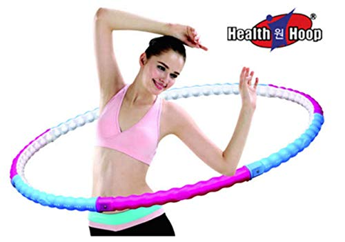 Health Hoop® Fat burning  passion Weighted Magnetic  Hula Hoop  2.2kg