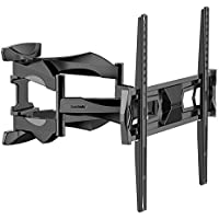 Fleximounts Arm 32-60 inch TV LCD Monitor Wall Mount, Full Motion Tilt Swivel Flat Panel Screen with VESA 400x400mm