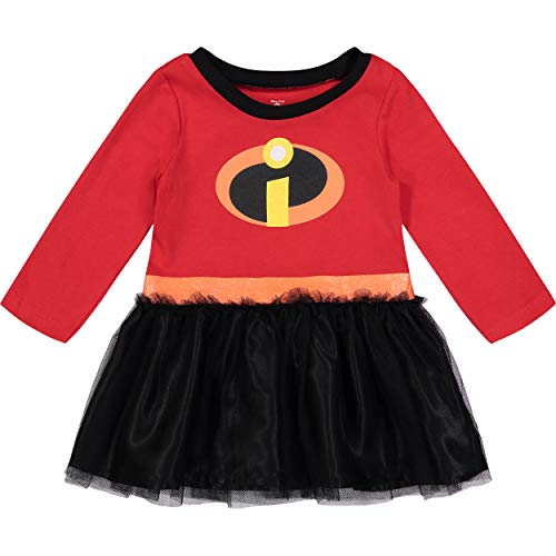 Disney Pixar The Incredibles Infant Baby Girls' Costume Dress, 18 Months