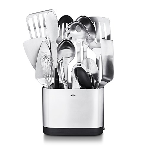 (OXO SteeL 15 Piece Utensil Set)