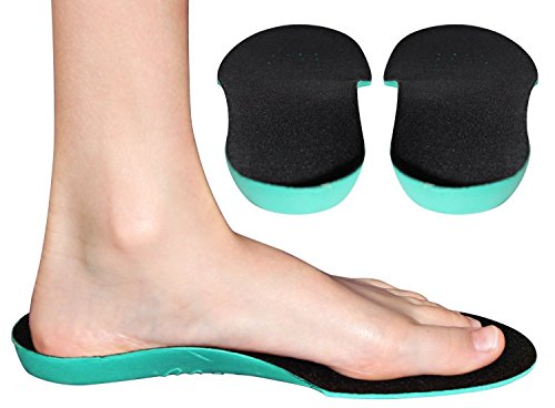 LOTGO Orthotic Childrens Insoles for Kids with Flat Feet Who Need Arch Support