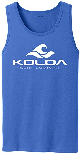 Wholesale Koloa Surf Classic Wave Logo Tank Tops in 27 Colors. Adult Sizes: S-4XL free shipping