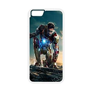 iPhone 6 Plus 5.5 Inch Cell Phone Case White Iron Man 3 New E2T3EB