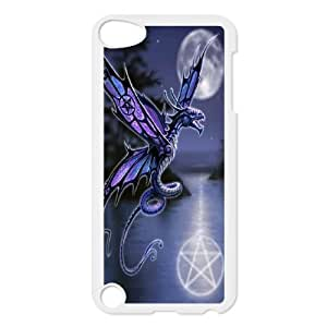 Best Phone case At MengHaiXin Store Dragon Art Desigh Pattern 146 FOR Ipod Touch 5