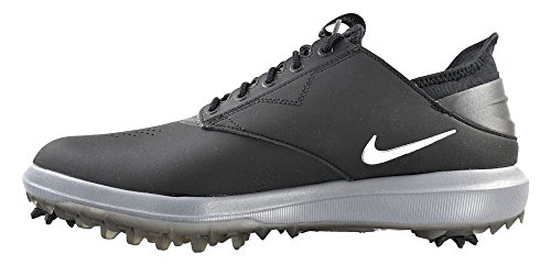 Pictures of Nike Golf- Air Zoom Direct Shoes Black/Metallic Silver 8