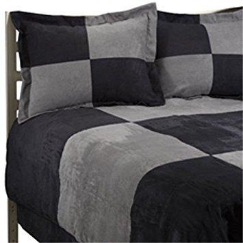 (JBFF Luxury Microsuede Goose Down Alternative Comforter)