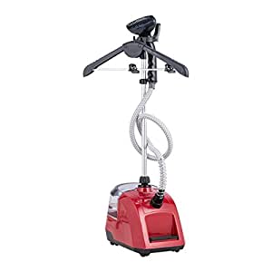 CO-Z Commercial Grade Garment and Fabric Steamer, 0.74 Gallon/2.8 L Tank, Foot Operated Switch, for Laundry & Garment Stores with Garment Hanger 1500W