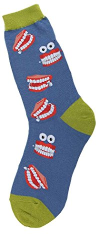 Foot Traffic – Women's Socks (Chatty Teeth)