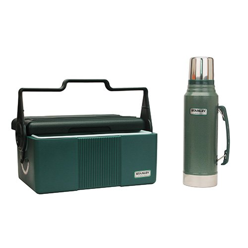 Price comparison product image Adventure Hertg Lunchbox/Bottle Combo Grn Stanley 10-01026-005