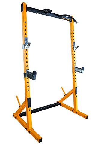 Powertec Fitness Workbench Half Rack-Yellow