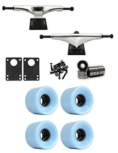 操作子供時代マダムコア7.0 Longboard Trucksホイールパッケージ59 mm x 43 mm 83 a 291 Cブルー