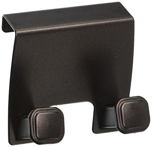 (InterDesign Marcel Over-The-Cabinet Twin Hook, Bronze)