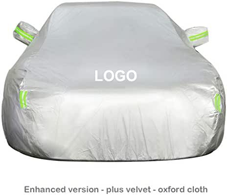 SJQRF Car Cover Compatible with Toyota Fortuner Car Cover .Fully Waterproof Scratch Proof Sunscreen Dustproof Universal Durable Breathable