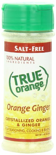 Sugar Free Orange Juice (True Orange Shaker, Ginger, 2.82 Ounce)