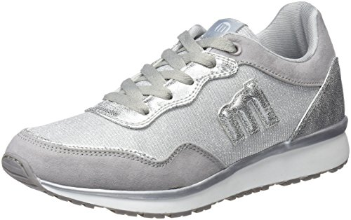 MTNG WoMen Anne Fitness Shoes, Gold Grey (Softy Gris / Diana Plata C39178)