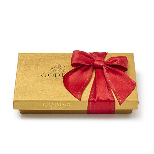 Godiva Chocolatier 8 Piece Holiday Gold Ballotin Gift Box, Assorted Gourmet Chocolates