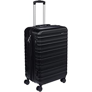 AmazonBasics Hardside Spinner Travel Suitcase – 24 Inch