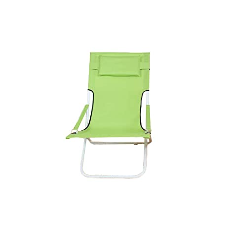 Amazon.com: ZHLJ Folding Lazy Chair Lunch Break Chair ...